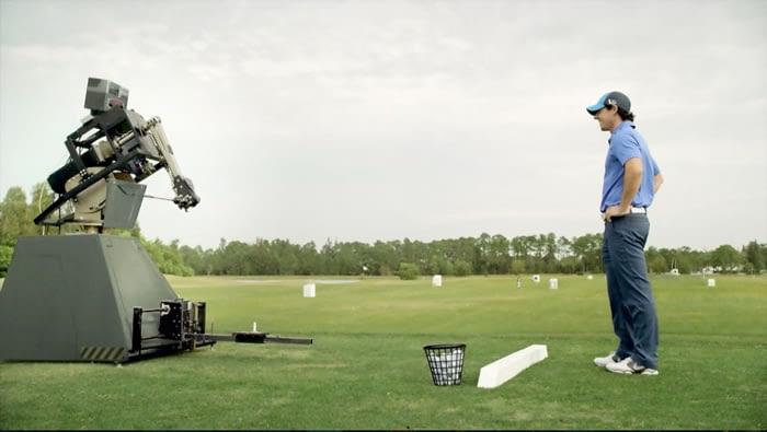 European Tour: Rory vs Robot
