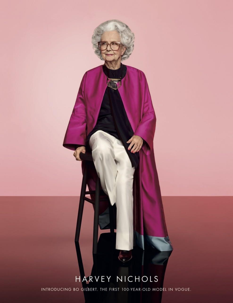 Harvey Nichols: 100 year-old model