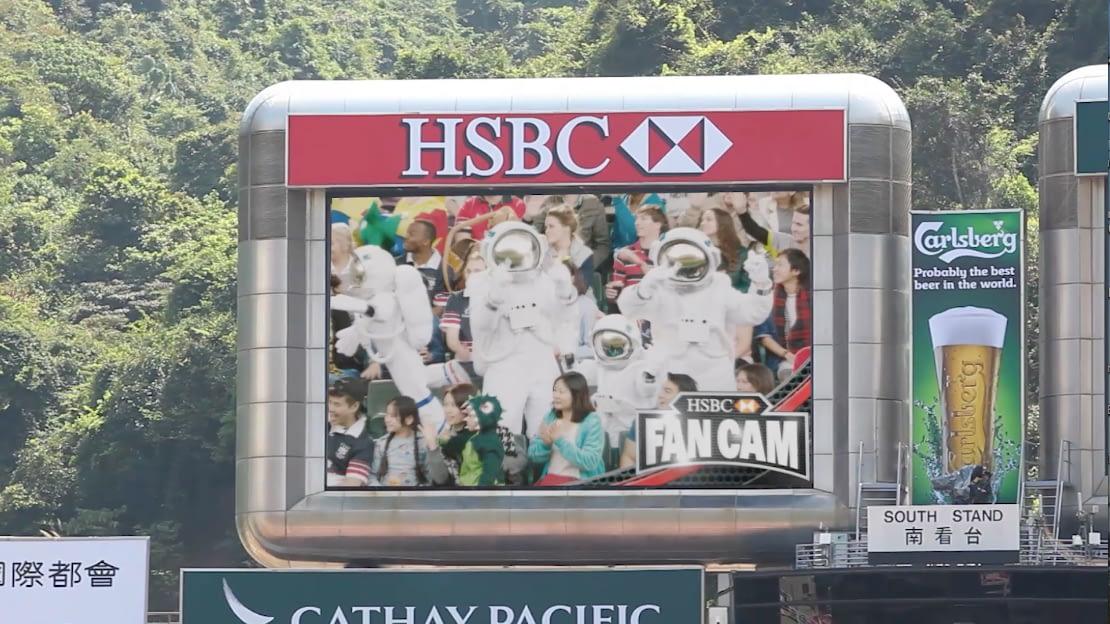 HSBC Fan Cam Case Study